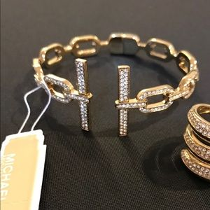 Micheal Kors links cuff bangle